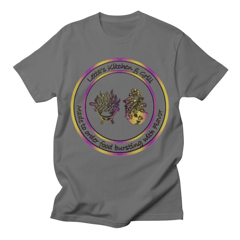 Letta's Kitchen & Grill Graphic Tees T-Shirt by Davi Nevae Creates