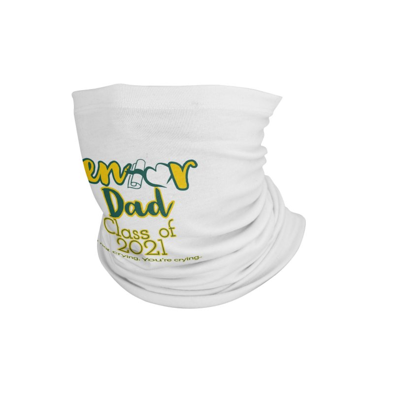 Senior Dad Face Mask and other Accessories Neck Gaiter by Davi Nevae Creates