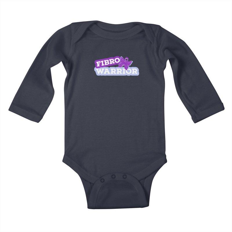 Fibromyalgia Little Ones Baby Longsleeve Bodysuit by Davi Nevae Creates