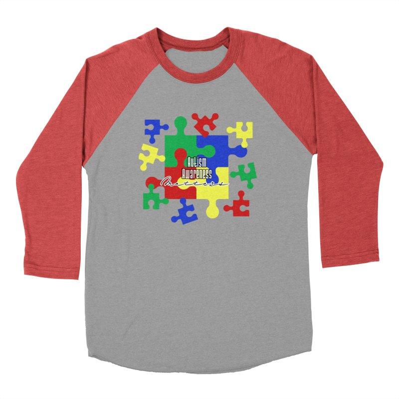 Autism Awareness Graphic Tees Longsleeve T-Shirt by Davi Nevae Creates