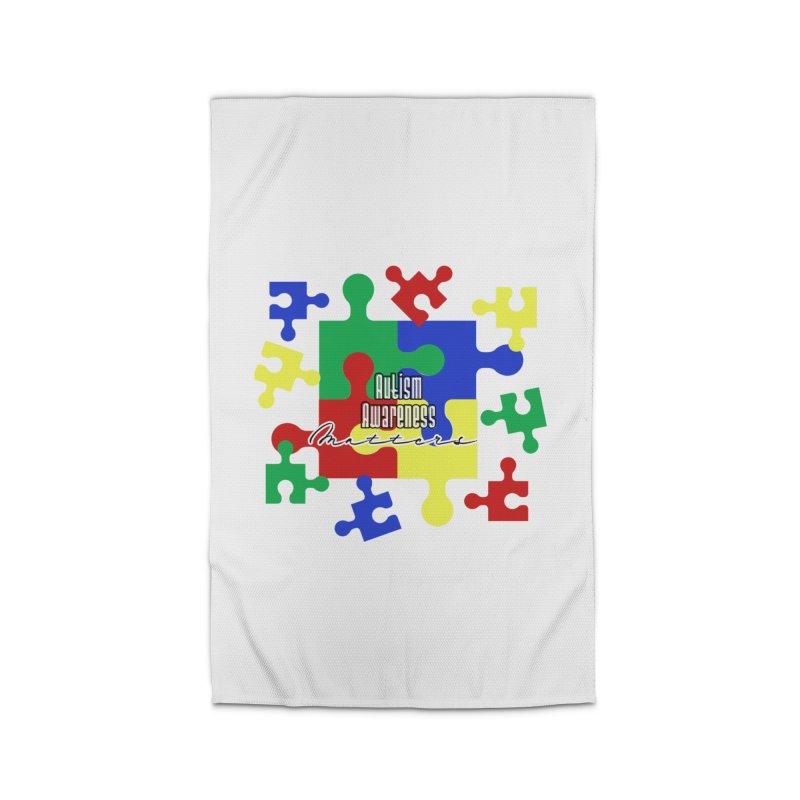 Autism Awareness Home Decor Rug by Davi Nevae Creates
