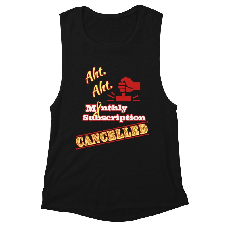 Aht.Aht. Fitted Graphic Tees Tank by Davi Nevae Creates