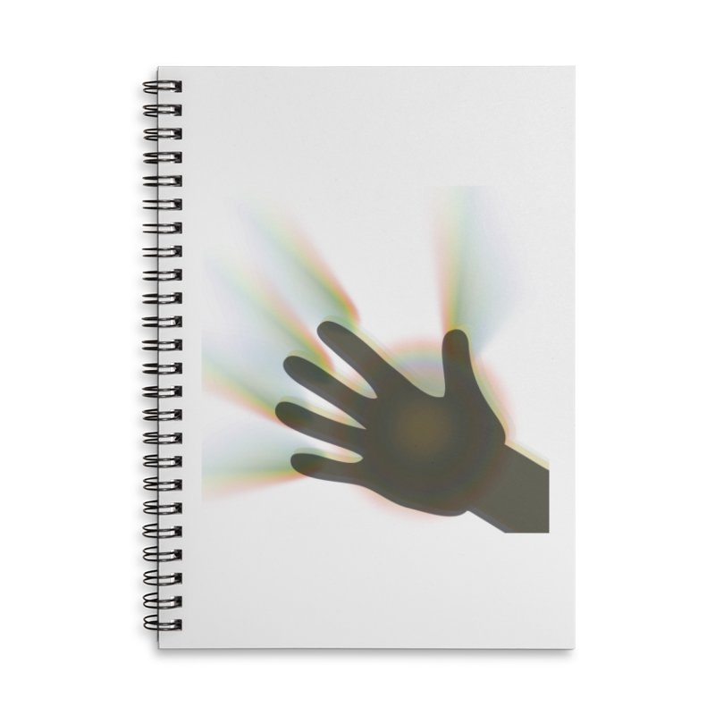 energy Face Mask and other Accessories Notebook by Davi Nevae Creates