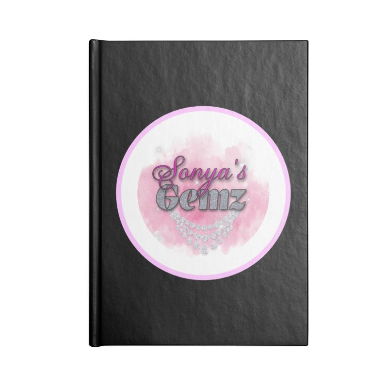 Sonya's Gemz Merchandise Face Mask and other Accessories Notebook by Davi Nevae Creates