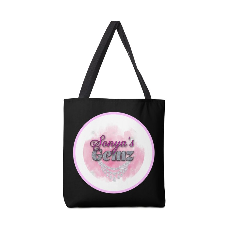 Sonya's Gemz Merchandise Face Mask and other Accessories Bag by Davi Nevae Creates