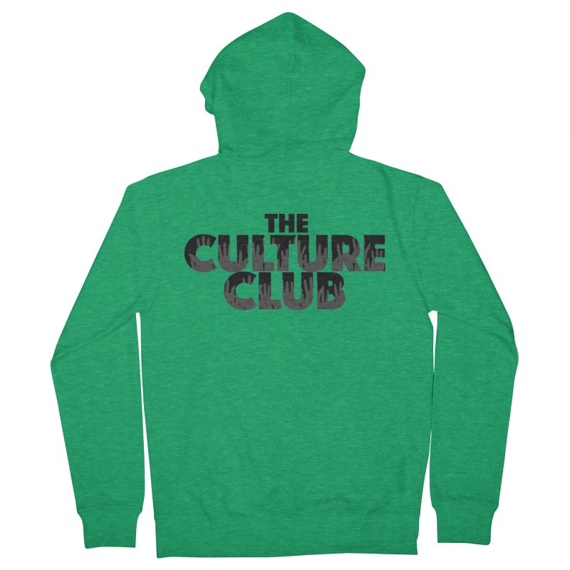 The Culture Club Graphic Tees Zip-Up Hoody by Davi Nevae Creates