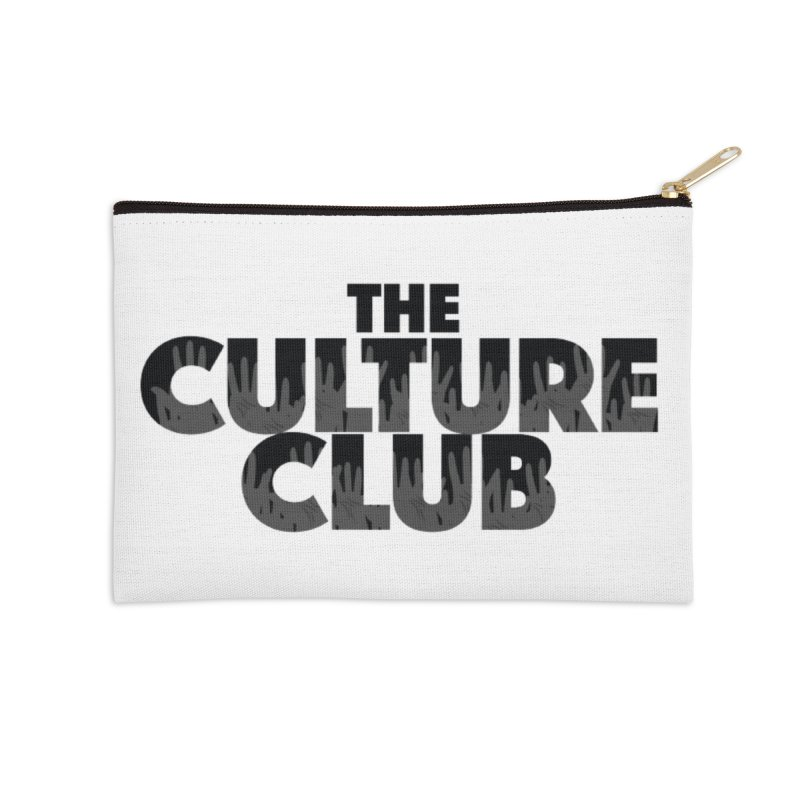The Culture Club Face Mask and other Accessories Zip Pouch by Davi Nevae Creates