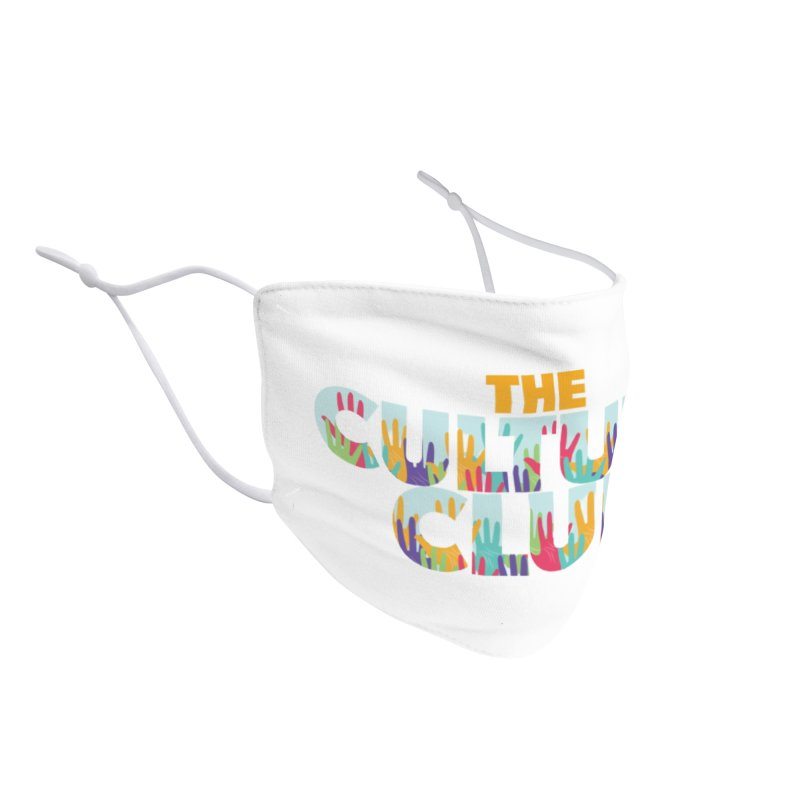 The Culture Club- Multi colors Face Mask and other Accessories Face Mask by Davi Nevae Creates