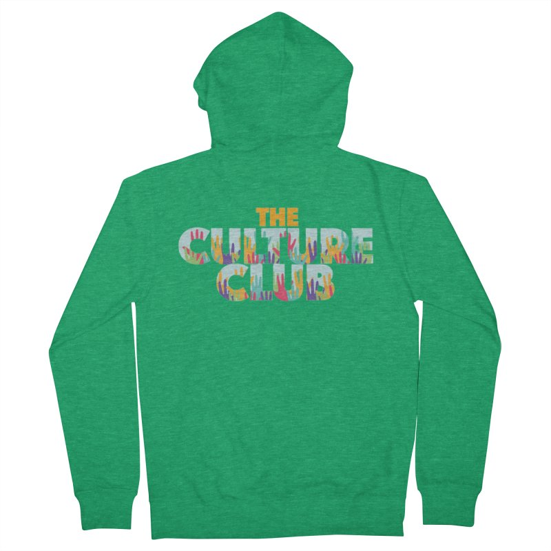 The Culture Club- Multi colors Graphic Tees Zip-Up Hoody by Davi Nevae Creates