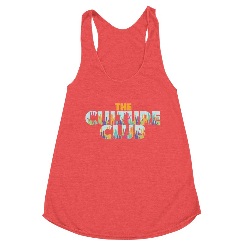 The Culture Club- Multi colors Fitted Graphic Tees Tank by Davi Nevae Creates