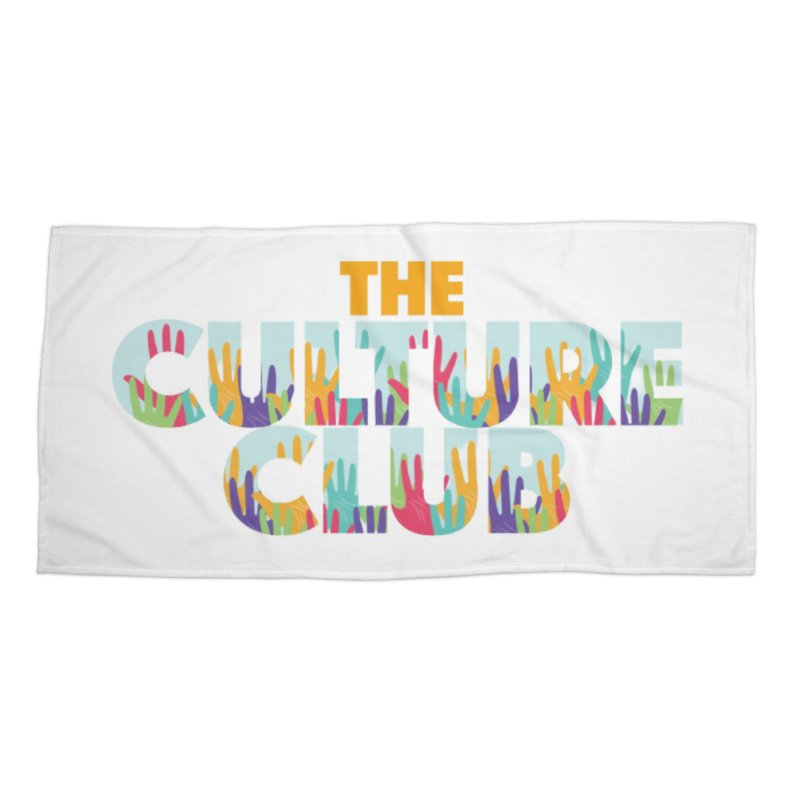 The Culture Club- Multi colors Face Mask and other Accessories Beach Towel by Davi Nevae Creates