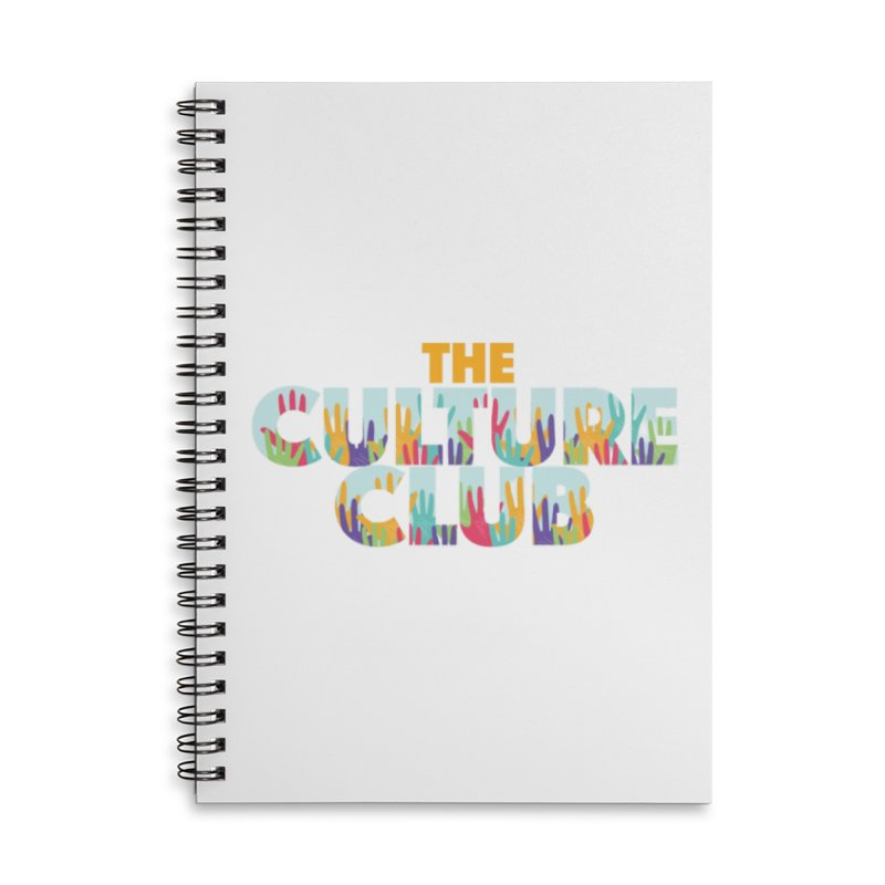 The Culture Club- Multi colors Face Mask and other Accessories Notebook by Davi Nevae Creates