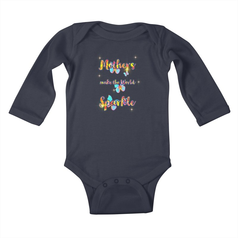 Mothers Little Ones Baby Longsleeve Bodysuit by Davi Nevae Creates