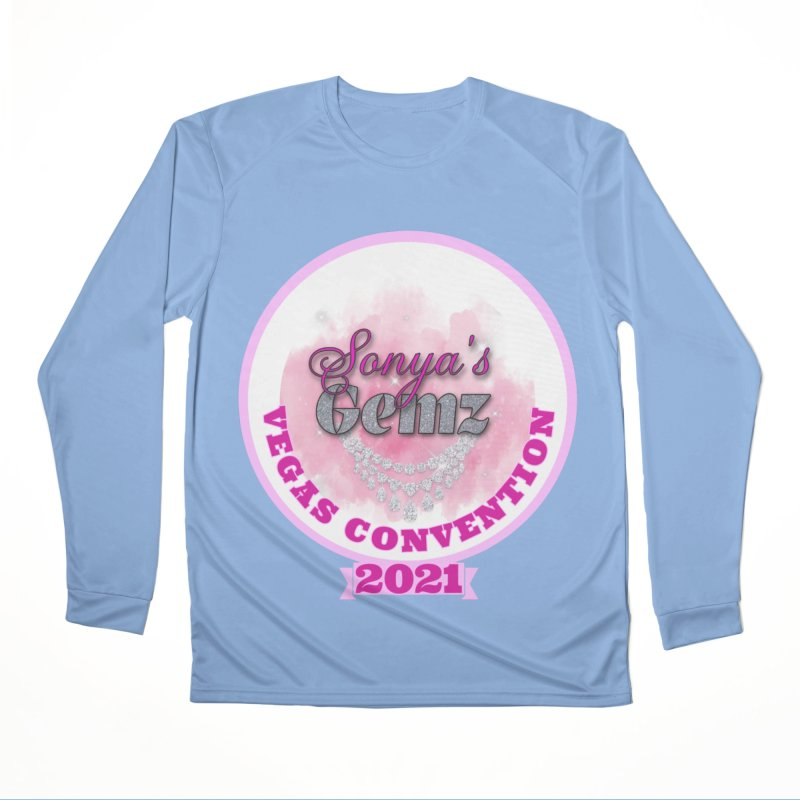 Vegas Convention 2021 Fitted Graphic Tees Longsleeve T-Shirt by Davi Nevae Creates