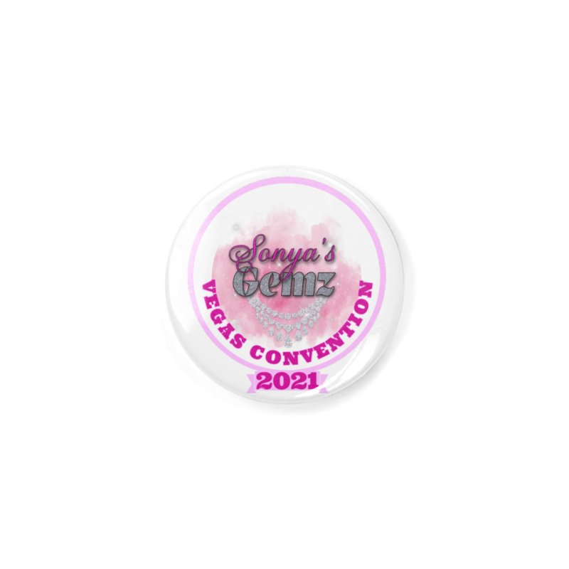 Vegas Convention 2021 Face Mask and other Accessories Button by Davi Nevae Creates