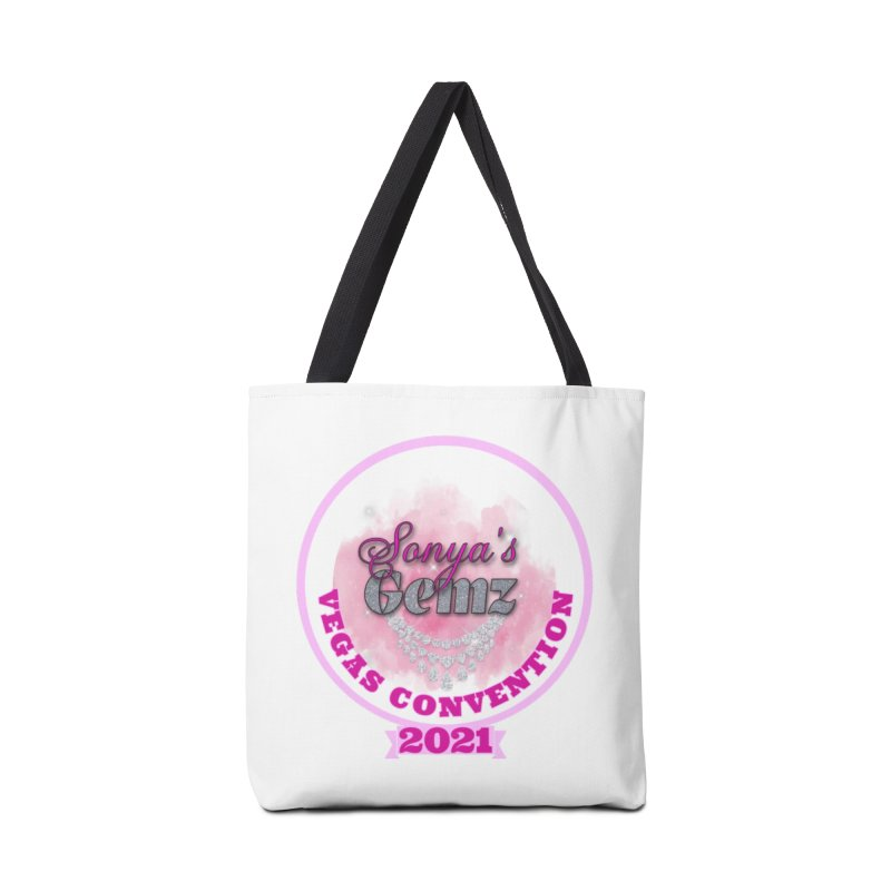 Vegas Convention 2021 Face Mask and other Accessories Bag by Davi Nevae Creates