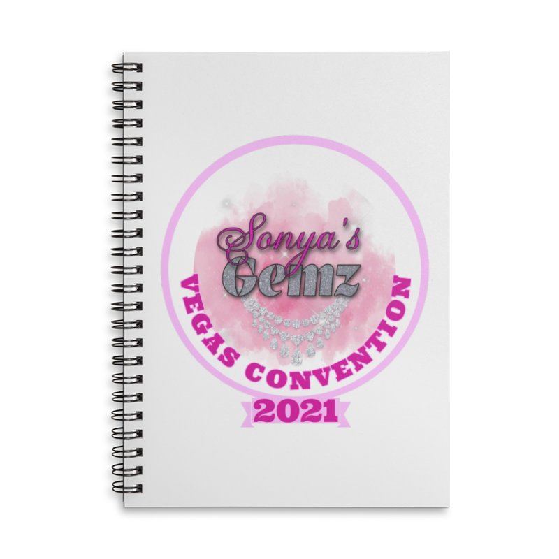 Vegas Convention 2021 Face Mask and other Accessories Notebook by Davi Nevae Creates