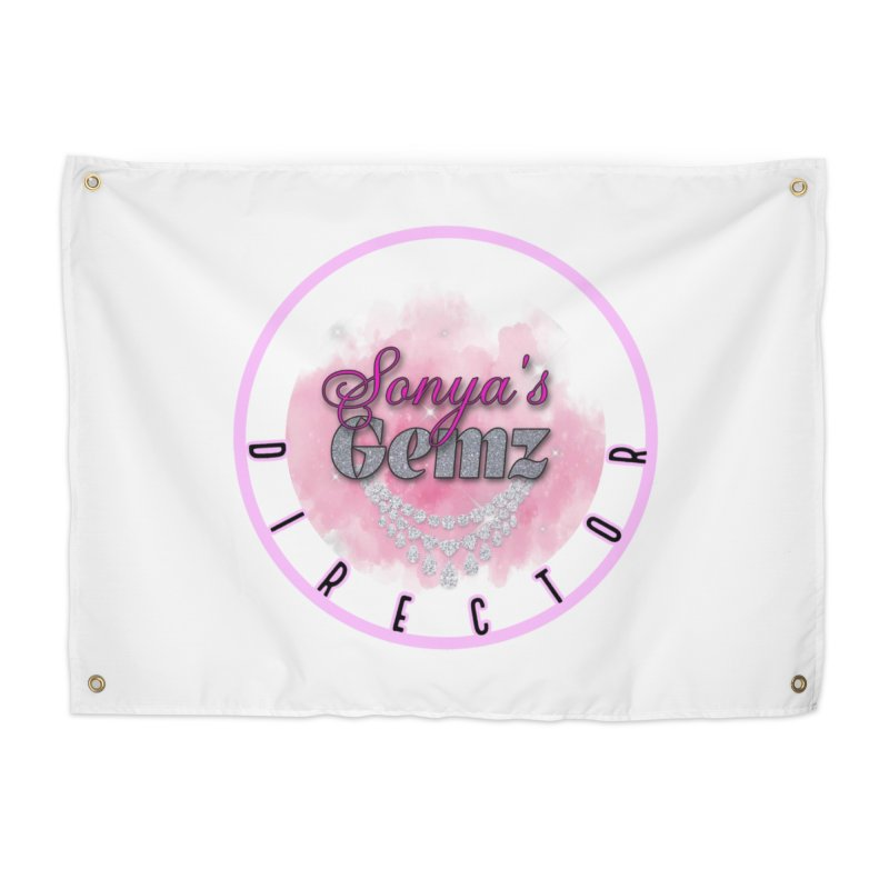 Director Badge Home Decor Tapestry by Davi Nevae Creates