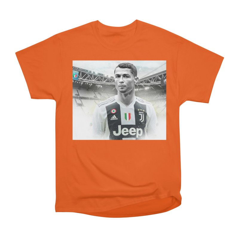 Cristiano Ronaldo Juventus Men s T-Shirt by DavidAgoston s Artist Shop 889e276ea