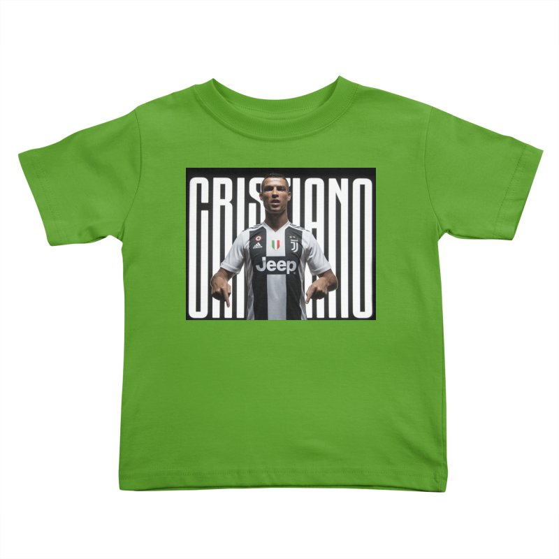 Cristiano Ronaldo Juventus Kids Toddler T-Shirt by DavidAgoston s Artist  Shop 9af77a8c5