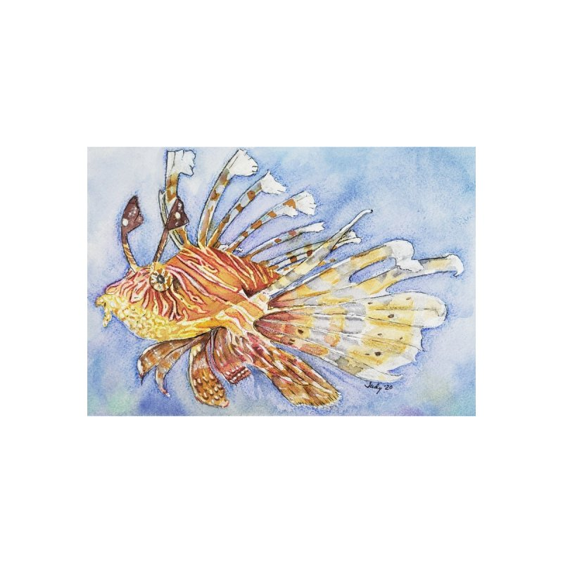 Lion Fish Home Fine Art Print by Davis Inspired Creations