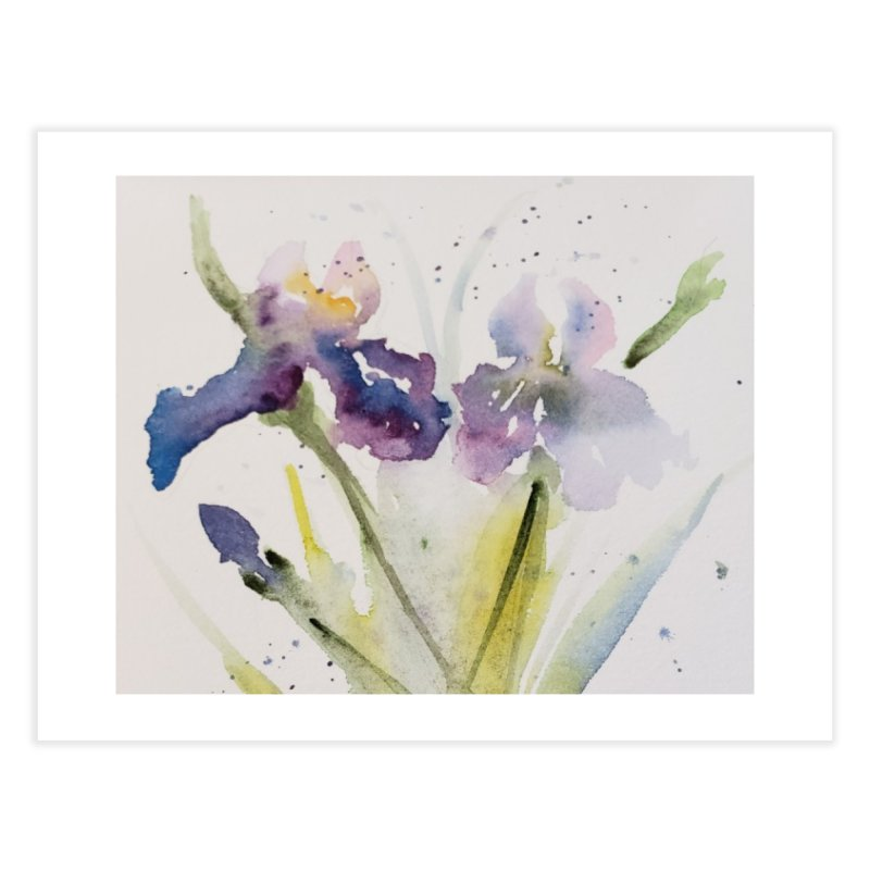 Iris Home Fine Art Print by Davis Inspired Creations