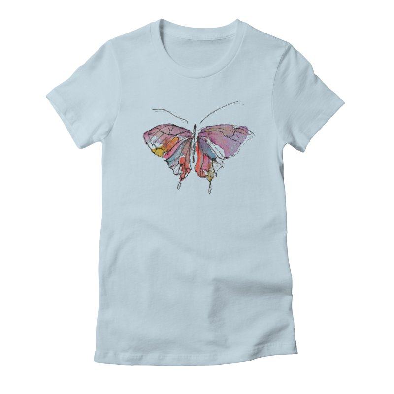 Simple Butterfly Women's T-Shirt by Davis Inspired Creations