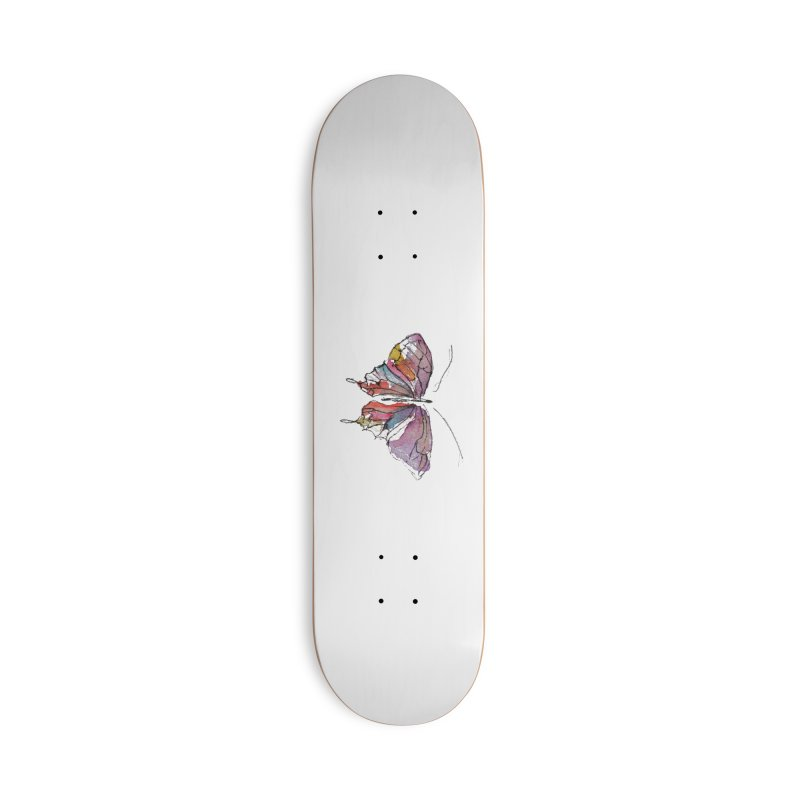 Simple Butterfly Accessories Skateboard by Davis Inspired Creations