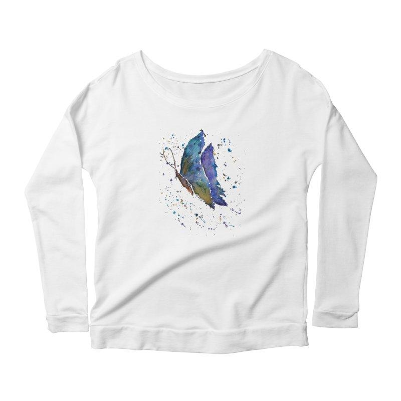 Fly Away Women's Longsleeve T-Shirt by Davis Inspired Creations