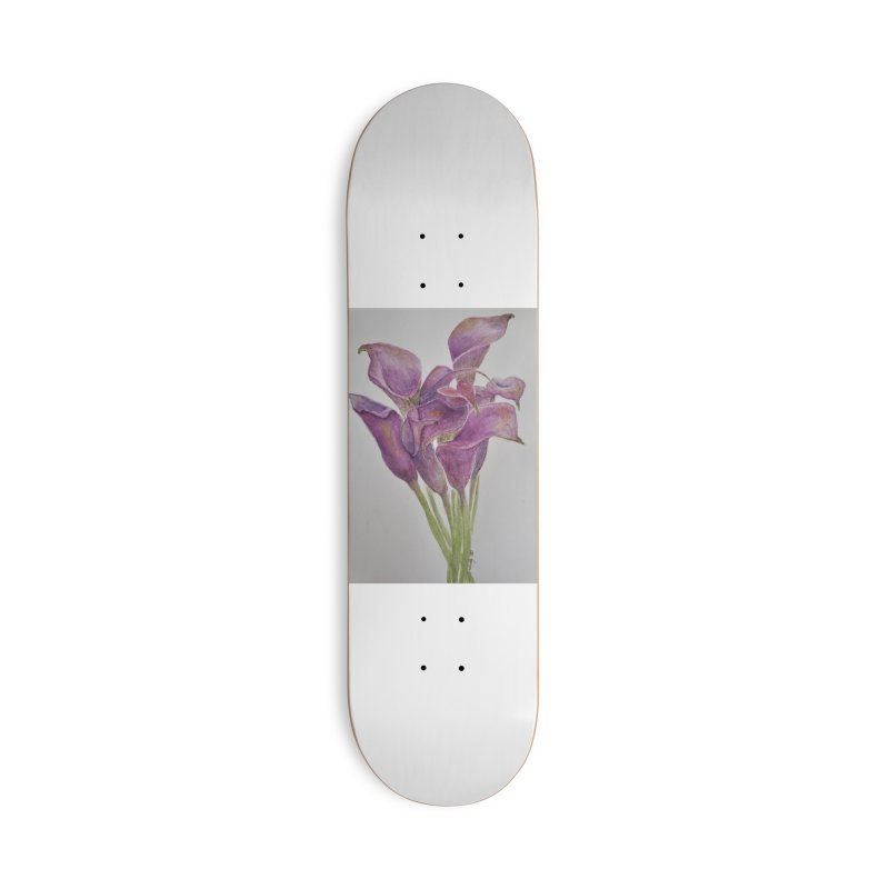 Calla Lily Accessories Skateboard by Davis Inspired Creations