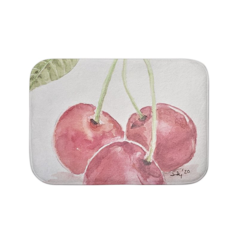 Cherry Bling Home Bath Mat by Davis Inspired Creations