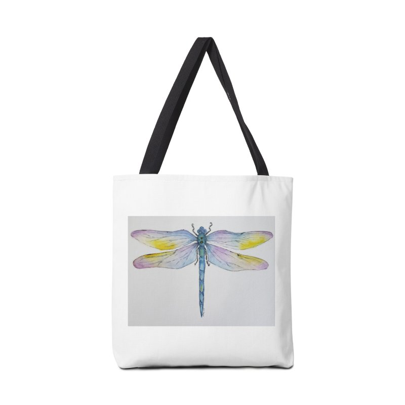 Dragonfly blue Accessories Bag by Davis Inspired Creations