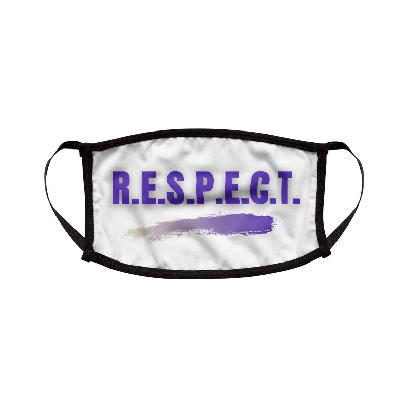 Respect Accessories Face Mask by Davis Inspired Creations