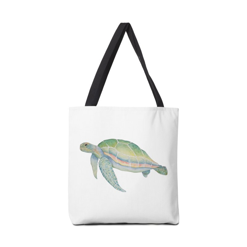 Sea Turtle 1 Accessories Bag by Davis Inspired Creations