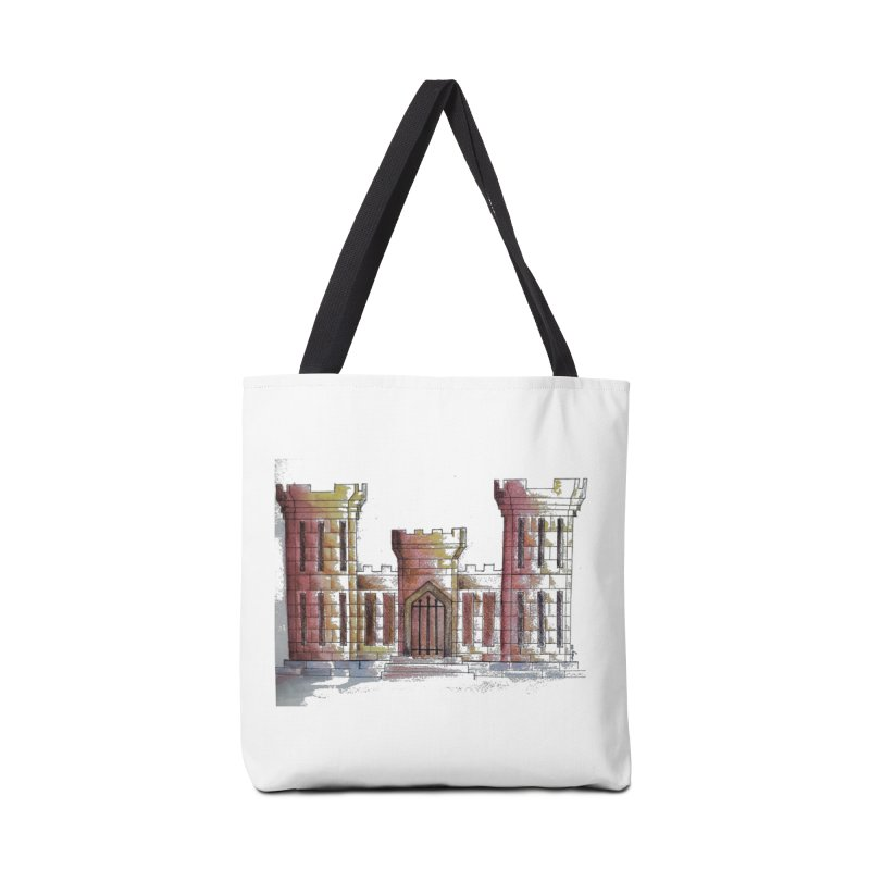 Color Engineer Castle Accessories Bag by Davis Inspired Creations