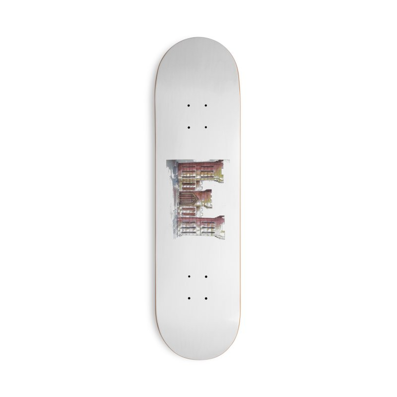 Color Engineer Castle Accessories Skateboard by Davis Inspired Creations