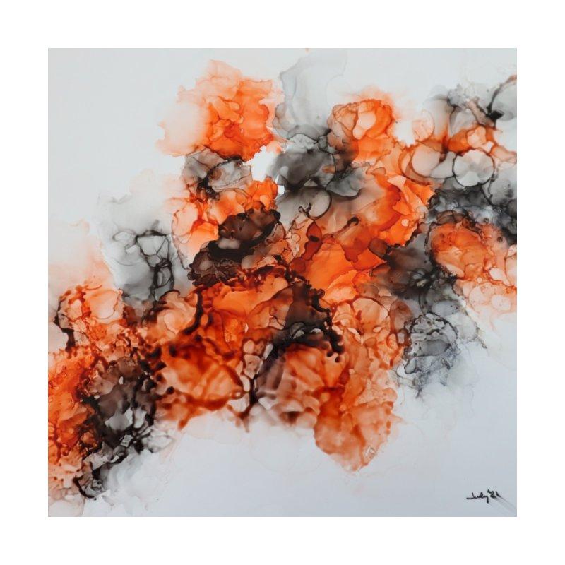 Orange Dream Home Blanket by Davis Inspired Creations