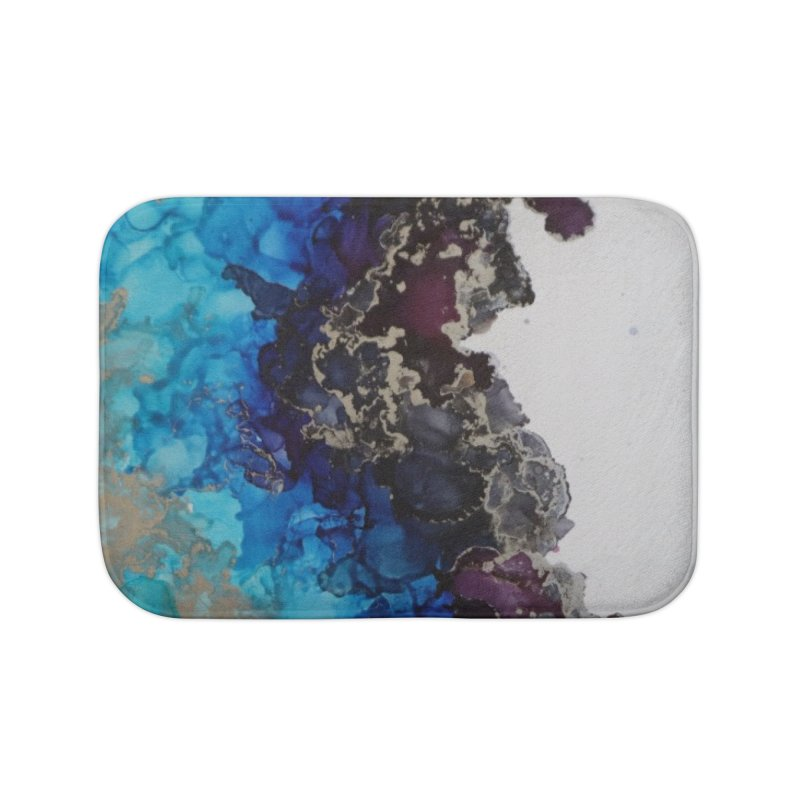 Geode Abstract Home Bath Mat by Davis Inspired Creations
