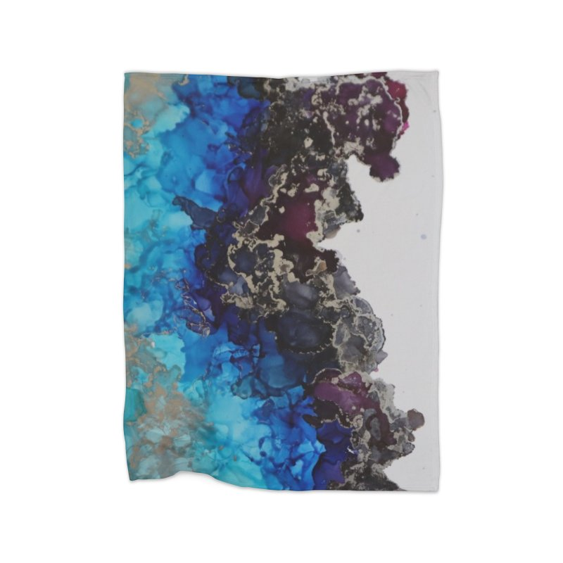 Geode Abstract Home Blanket by Davis Inspired Creations