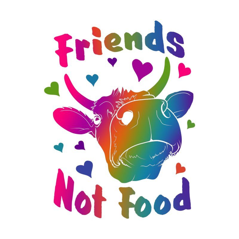 Friends Not Food Prints and Pillows Blanket by Dawgpainter's Artist Shop