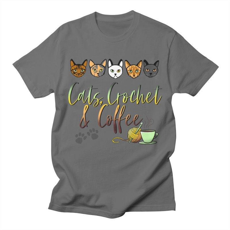 Cats, Crochet & Coffee   by Dawgpainter's Artist Shop
