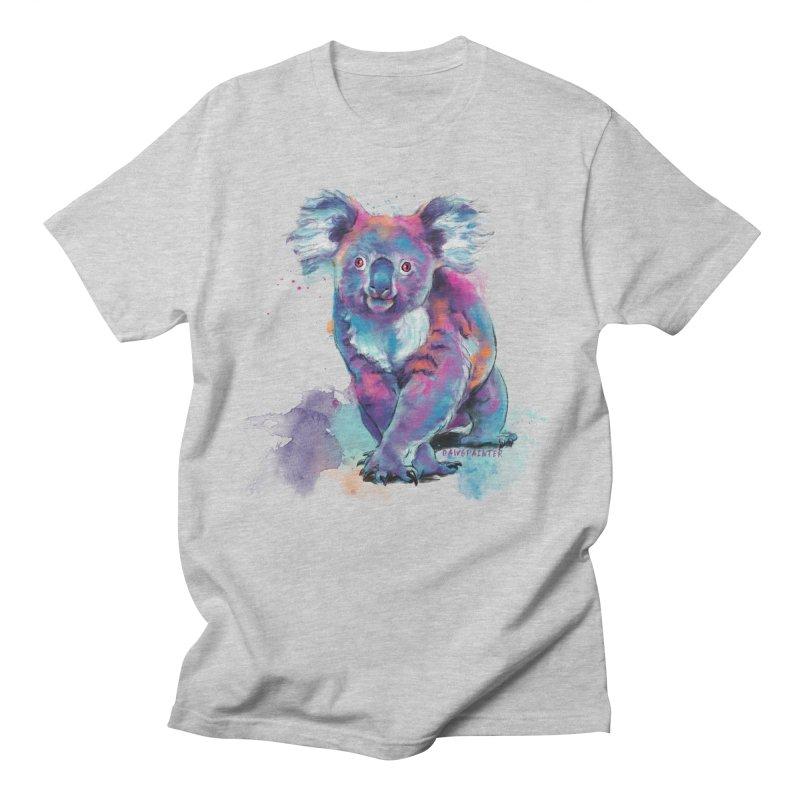 Koala Masc Apparel S - 5XL T-Shirt by Dawgpainter's Artist Shop