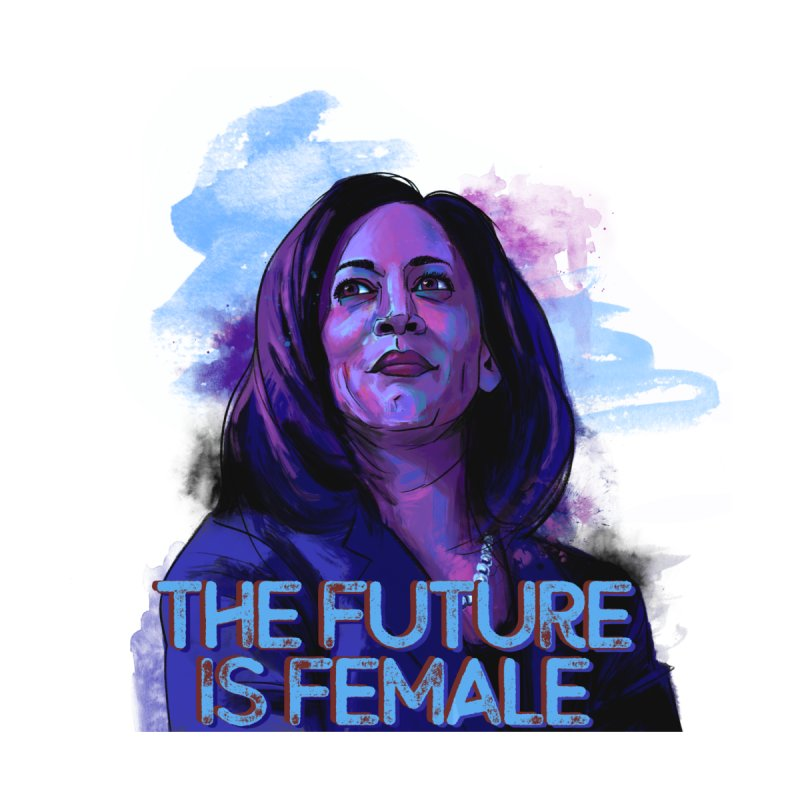 The Future is Female 2.0 Cards, Stickers, Mugs, and Gifts Notebook by Dawgpainter's Artist Shop