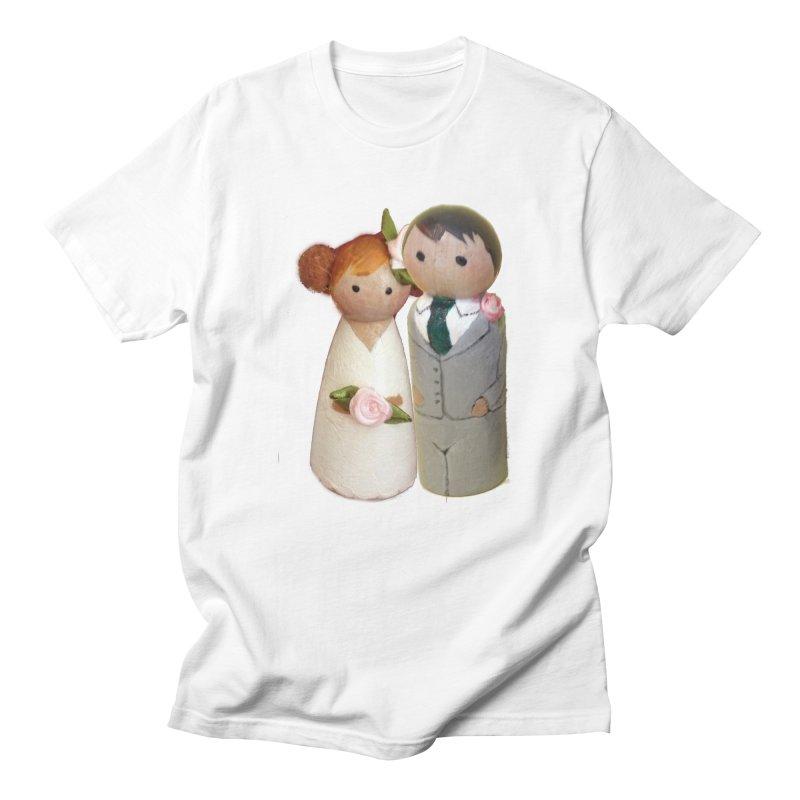 PEG DOLL WEDDING Men's T-Shirt by Dawnsdesigns's Artist Shop