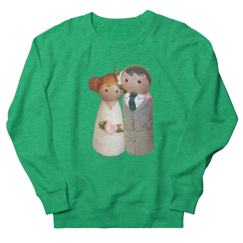 PEG DOLL WEDDING Women's Sweatshirt by Dawnsdesigns's Artist Shop
