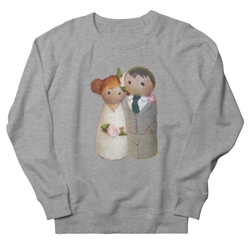PEG DOLL WEDDING Women's Sweatshirt by Dawnsdesigns's Artist Shop