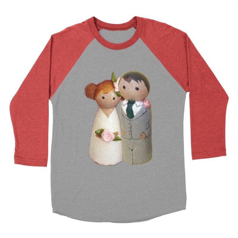 PEG DOLL WEDDING Men's Baseball Triblend T-Shirt by Dawnsdesigns's Artist Shop