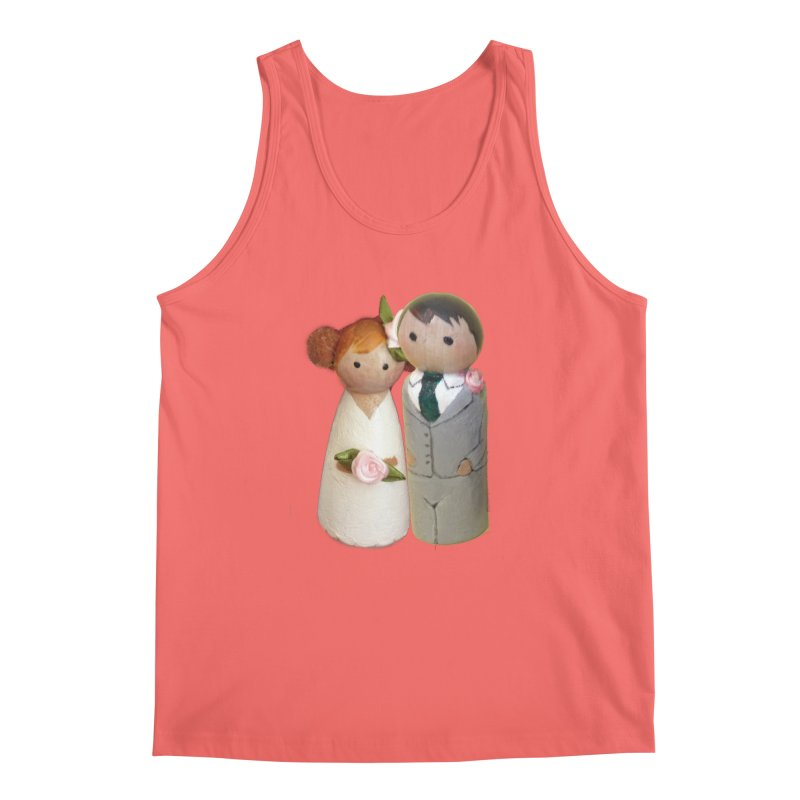 PEG DOLL WEDDING Men's Tank by Dawnsdesigns's Artist Shop