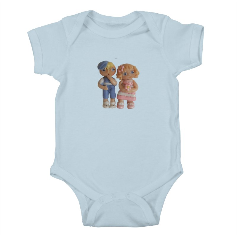 Best Friends Kids Baby Bodysuit by Dawnsdesigns's Artist Shop