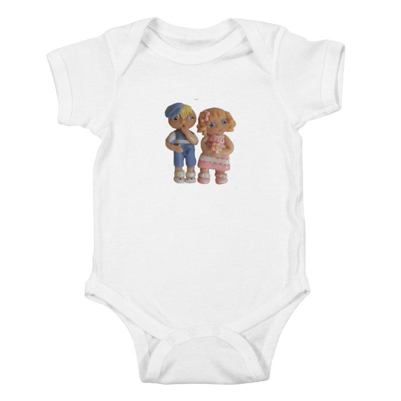 Best Friends Kids Baby Bodysuit by Dawnsdesigns's Artist Shop